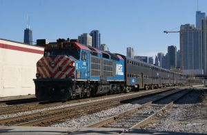 Metra F40C 614 as MDN 2608 by JamesT4
