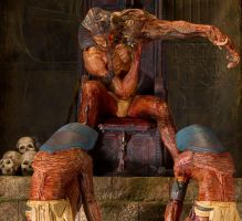 Sitting Hell - A Metamorphosis Addict by sivousplay