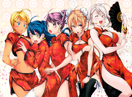 Shokugeki no Soma Ch.131 Color Complete Redraw by IRSTs