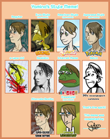 Style meme - with Buttons again by GalooGameLady