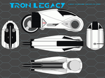 Tron Legacy Light Cycles by bagera3005