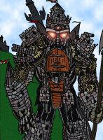 Castle Zord by DirtyColumbus