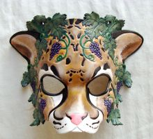 Dionysus Leopard Mask by senorwong