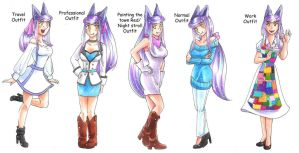 EE: Future Outfits by hopelessromantic721