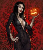 Morticia! by BrunoCotic