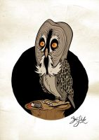 Owltober - Great Grey Owl 2 by Themrock