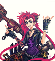 Slayer Jinx by xluxifer
