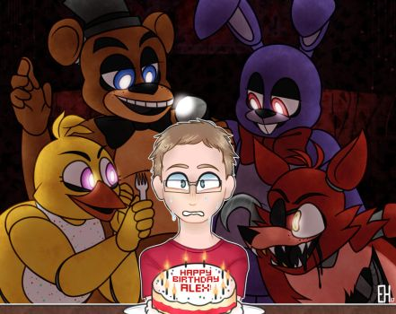 Five Nights at a Birthday Party by purrwitch