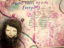 Music saves my life by infectedNcontagious