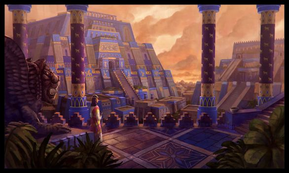 Mesopotamian City by LongJh