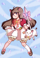 Magical Bee and Puppycat by LovableQueen