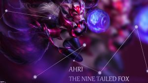 Challenger Ahri Background by redeemthedead