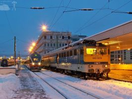 V43 3278 in Budapest at night by morpheus880223