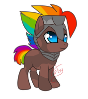 Rainbow Charger by SoaringSky88