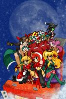 BK: Santa's New Helpers by anime-dragon-tamer