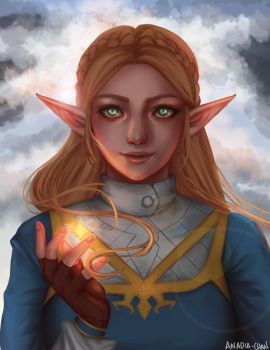 Princess Zelda by Anadia-Chan