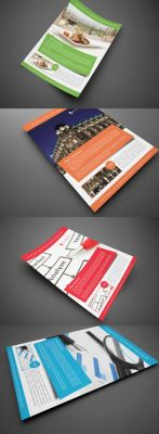 Elegant Corporate Flyer by glenngoh