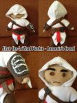 Assassin's Creed - Altair Plushie by Chibidoodles