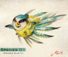Species 01- Dirigible Blue by malta