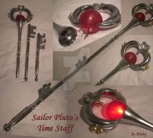 Sailor Moon Pluto Time Staff - Cosplay Prop by NettyCosplay