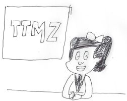 Mary Melody - TTMZ Reporter by dth1971