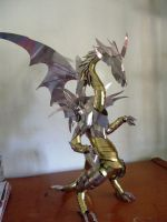 ARMORED DRAGON Lv 2 by Bfitzgerald