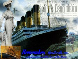 Titanic   Remember 100th Anniversary of her loss by jemagjh