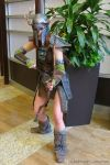 Aela the Huntress with Ancient Nord Helmet by LyddiDesign