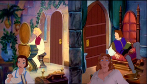 Belle's Adventures in The Swan Princess Part 2 by MedieavalBeabe