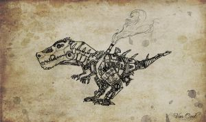 Steam Rex by Van-Oost
