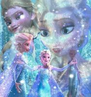 Elsa the Snow Queen by MaidenInTheWoods