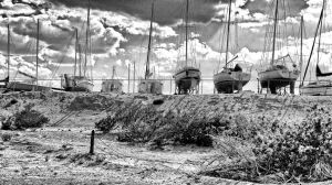 Sail Boats at Elephant butte Reservoir by whendt
