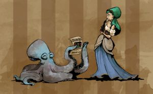 Cephalopod Boxing: Part 1 by s0alaina