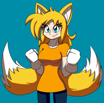 Tails Girl by Stolken