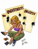 The undertaker's daugther by LulaBorges