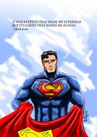 Superman by adamantis