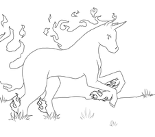 Rapidash Lines by Fang-Chan13