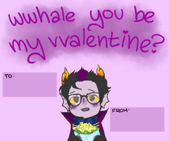 Valentines From Eridan by kingkimochi