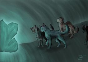 On the moonstone by Espenfluss