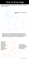 How to draw dogs - head by GlacierCat