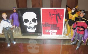 The Venture Bros DVD Seasons 1 and 2 by paintmarvels