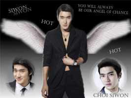 Siwon-The Angel,for KagamineWonde by Zeljkae