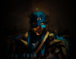 Fall of Captain America by hussainadil