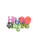 Texto Png - Hit The Lights by ValuuEditions