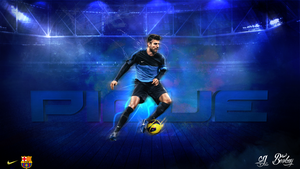 pique wallpaper ft. colorful by BerkayGraphic