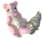 Slowbro by geeses
