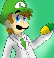 Dr luigi by Whitegriphon1212