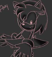 Amy Doodle 03 by SonicForTheWin2