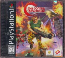 C: The Contra Adventure Front Cover by derrickthebarbaric