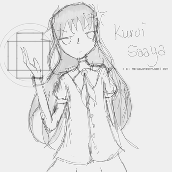 AT : k u r o i  s a a y a by MikuGlorishaVC01